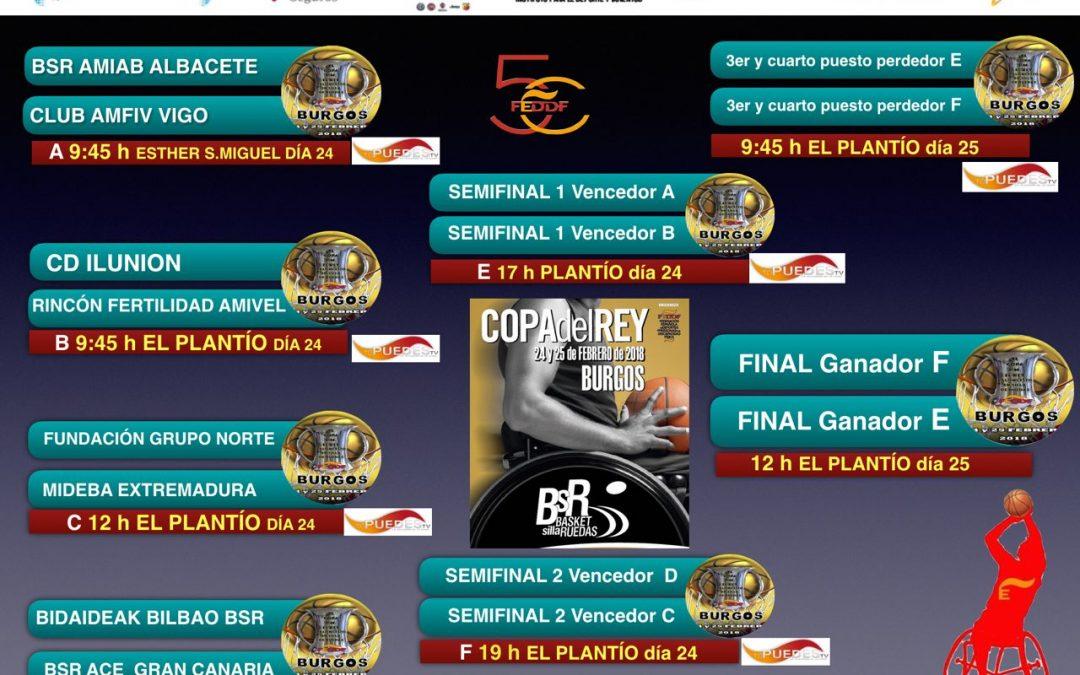 La Copa del Rey de Baloncesto en Silla de Ruedas más emocionante llega a Burgos