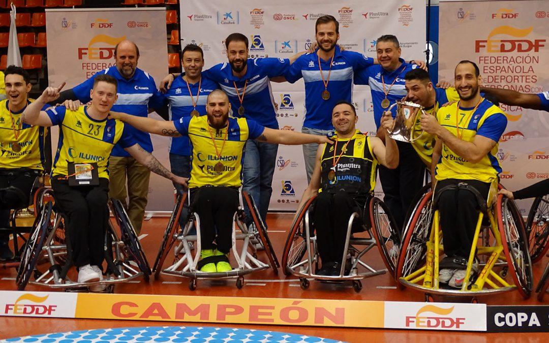 ILUNION conquista en Burgos su 17º Copa del Rey