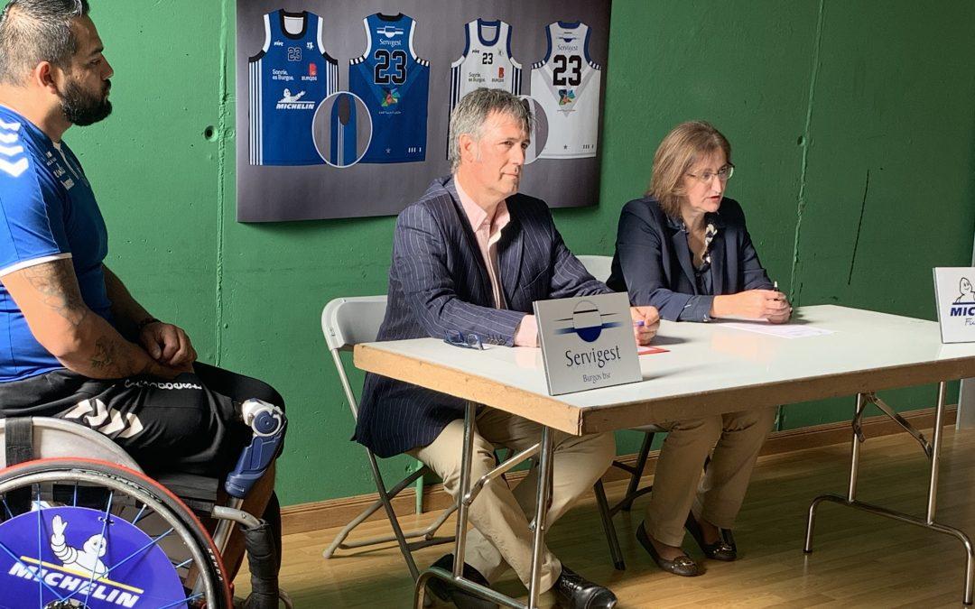 Servigest Burgos y Fundación Michelin firman un acuerdo de colaboración