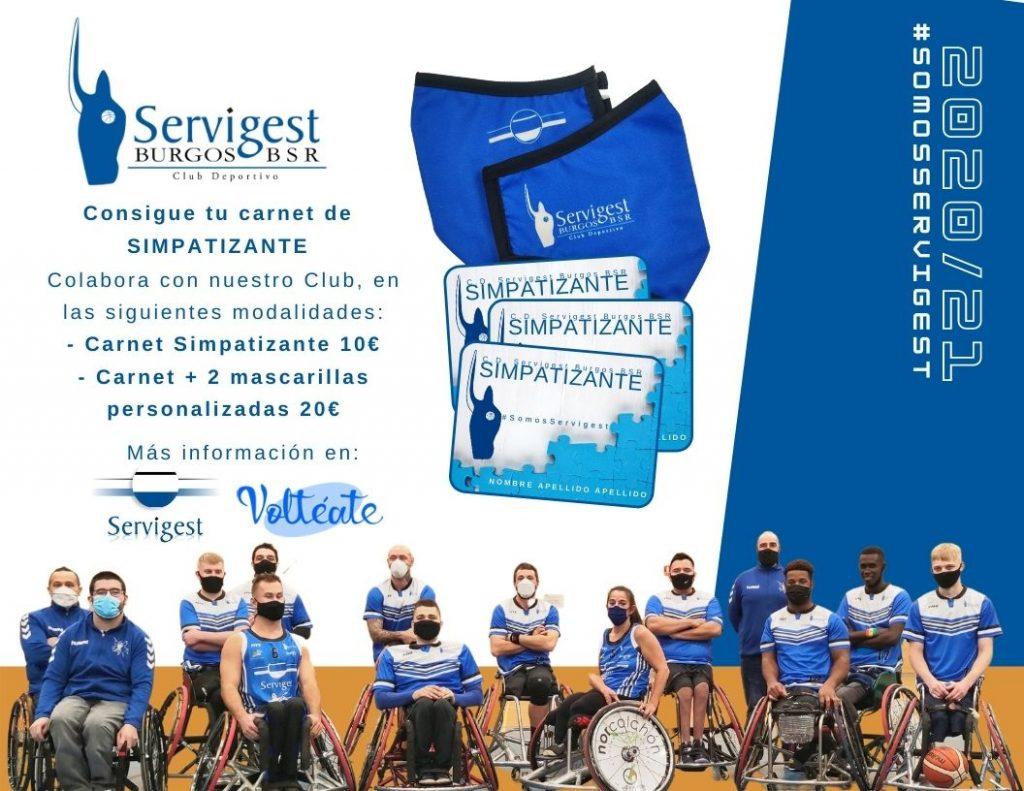 Campaña Simpatizantes Servigest Burgos BSR